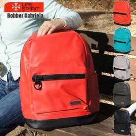 [全5色]リュック 男女兼用 大容量 リュックサック /軽い PVC 通勤 通学 無地 赤 ブルーグリーン グレー 黒 シンプル カジュアル 鞄 カバン かばん デイパック タウンバッグ バックパック