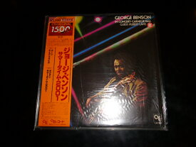 【中古】LPレコード ジョージ・ベンソン/サマータイム・2001GEORGE BENSONCTIレコード、キングレコードLAX3221