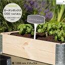 ガーデンボックス 1200 ナチュラル Kronus 社 品番:KGB1208nl Kronus Garden Box 1200 Natural クロヌス 木製 パレッ…