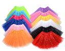 短納期 キラキラ 3層 チュールスカート 子供 キッズ チュチュ 女の子 16カラー フリーサイズ【お祝い ギフト プレゼ…