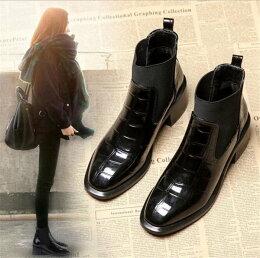 入学式卒業式袴ブーツハロウィンショートブーツレディースブーツ22-25cmブーティーレディーススクエアトゥシンプルショートブーツヒールブーティーローヒールワイズ疲れない歩きやすい幅広甲高足が痛くならない旅行大きいサイズ