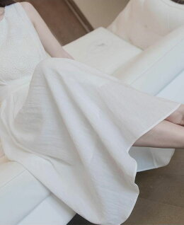 【限定価格】白ワンピースマキンワンピースレースワンピースレディース夏ドレスパーティードレスロングドレスフレア袖フォーマルワンピース細身ミモレ丈ウエディング結婚式花嫁二次会披露宴旅行柔らかい