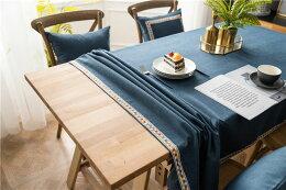 テーブルクロス北欧INS汚れ防止テーブルカバー長方形正方形お手入れ簡単テーブルマットインテリア多色選べる刺繍正方形縁取りテーブルクロス北欧風祝日の贈り物食卓カバープレゼントイベント