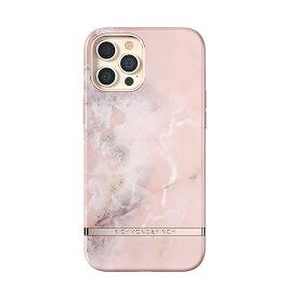 【ポイント10倍 6/24 06:00〜6/26 01:59】Richmond & Finch iPhone12ProMax Freedom Case - Pink Marble ピンク