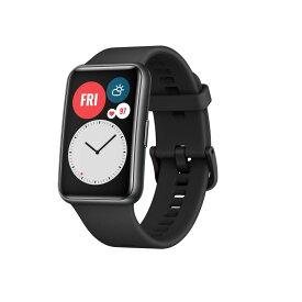 HUAWEI WATCH FIT/Graphite Black WATCH FIT/BK スマートウォッチ 黒 時計 腕時計 ファーウェイ ウェアラブル