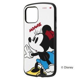 ray-out iPhone12ProMax ディズニー/耐衝撃 ProCa/ミニーマウス ホワイト