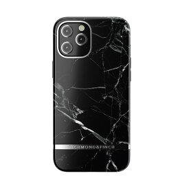 【ポイント10倍 6/24 06:00〜6/26 01:59】Richmond & Finch iPhone12ProMax Freedom Case - Black Marble ブラック