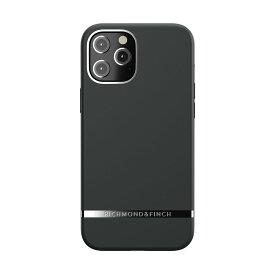 【ポイント10倍 6/24 06:00〜6/26 01:59】Richmond & Finch iPhone12ProMax Freedom Case - Black Out ブラック