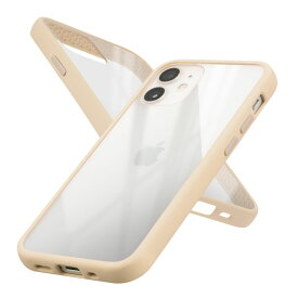 Campino カンピーノ iPhone12mini アイフォン ケース カバー スマホケース Anti-shock Slim Case ベージュ ネコポス便配送 クリア 透明
