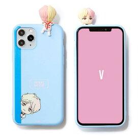 iPhone 12/12 Pro フィギュアゼリーケース ぺこんと V テテ BTS BTS 公式 グッズ TinyTAN