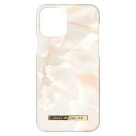 【iPhone新機種対応】iDeal of Sweden アイディールオブスウェーデン スマホケース ハード ケース iPhone13 ホワイト マーブル 2021 Fashion Case Rose Pearl Marble