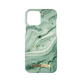 【iPhone新機種対応】iDeal of Sweden アイディールオブスウェーデン スマホケース ハード ケース iPhone13Pro ミント マーブル 2021 Fashion Case Mint Swirl Marble