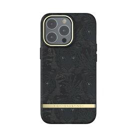 Richmond&Finch リッチモンドアンドフィンチ スマホケース ハード ケース iPhone13Pro ブラック 2021 Black Tiger