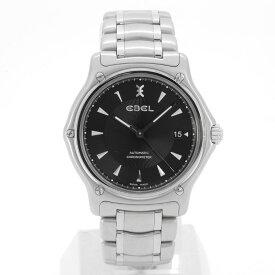 【EBEL】エべル E9120L41 自動巻き ブラック文字盤 メンズ腕時計【送料無料】【中古】
