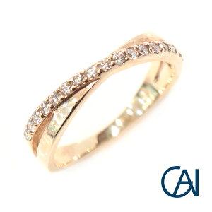GAI 〜Select Jewelry〜1文字 ダイヤモンド リング FR【展示新品】