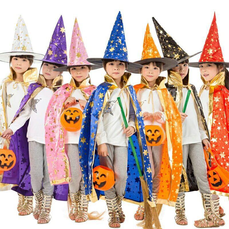 ハロウィン 衣装 子供 衣装 子供 コスプレ 魔女 マント 魔法使い キッズ コスプレ衣装 子供 男の子 女の子 かわいい 仮装 ハロウィン ハロウィンマント オレンジ ウィッチ コスチューム 子ども用 ケープ 仮装 可愛い かぼちゃ ウーノスタイル