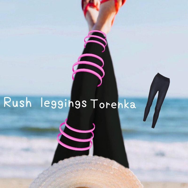 ラッシュガード レギンス トレンカ UVカット 水陸両用 魔法のレギンス スポーツ ラッシュレギンス レディース プール 水着 着圧