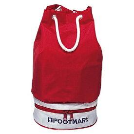 ◆◆○ <フットマーク> FOOTMARK スイムバッグ ニューツイン レッド 101333-05 水泳(101333-05-fmk1)