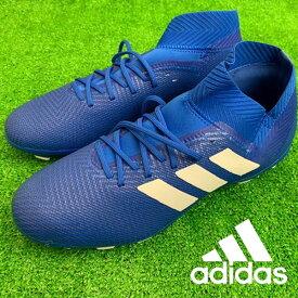 即納可☆ 【adidas】アディダス 特価 【スパイク/ベーシックモデル】ネメシス 18.3 HG/AG メンズ サッカースパイク フットボール(bb6984-16skn)
