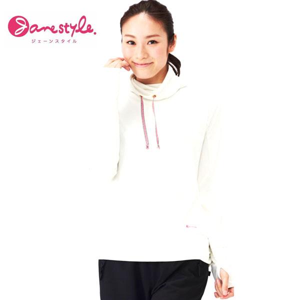 即納可☆ 【Janestyle】ジェーンスタイル レディース 冷感素材 長袖ジャケット フィットネス 軽量 UVカット(js632-16skn)