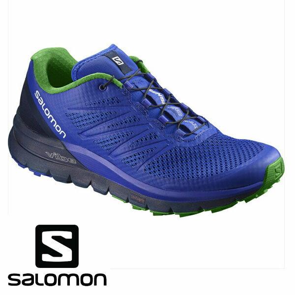 即納可★ 【SALOMON】サロモン SENSE PRO MAX トレイルランニングシューズ メンズ(l39856200-16skn)
