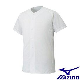 ◆◆ <ミズノ> MIZUNO 【ミズノプロ】シャツ/オープンタイプ(野球) 12JC6F01 (01:ホワイト)