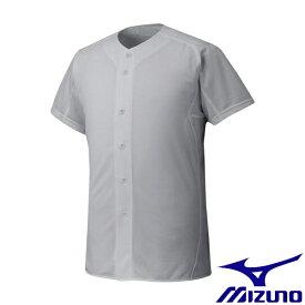 ◆◆ <ミズノ> MIZUNO 【ミズノプロ】シャツ/オープンタイプ(野球) 12JC6F01 (05:グレー)