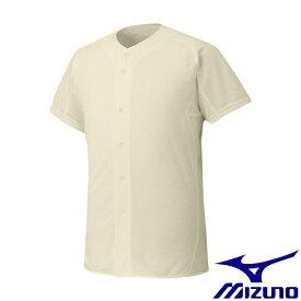 ◆◆ <ミズノ> MIZUNO 【ミズノプロ】シャツ/オープンタイプ(野球) 12JC6F01 (48:アイボリー)