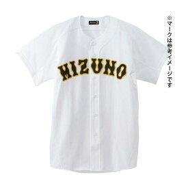 ◆◆ <ミズノ> MIZUNO 【ミズノプロ】メッシュシャツ(オープン型)(野球) 52MW173 (01:ホワイト)