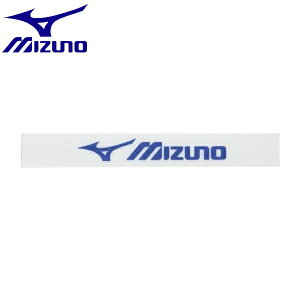 ◆◆ <ミズノ> MIZUNO エッジガード(3セット入り/テニス) 63JYA861 (02:クリア×ブルー)