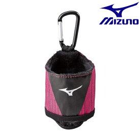 ◆◆ <ミズノ> MIZUNO ボールポーチ(グラウンド・ゴルフ)[ユニセックス] C3JCP802 (66:ワイン)