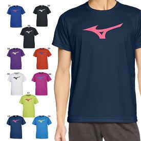 ◆◆送料無料 メール便発送 <ミズノ> MIZUNO 2018 SS BS Tシャツ ビッグRBロゴ Tシャツ ジュニアから大人サイズまで ユニセックス(32ja8155-miz2)