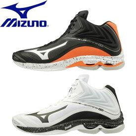 ◆◆ <ミズノ> 【MIZUNO】 ユニセックス ウエーブライトニング Z6 MID バレーボール シューズ V1GA2005