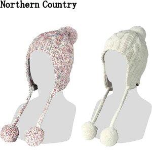 ◆◆送料無料 メール便発送 <ノーザンカントリー> 【northern country】 ユニセックス ビーニー(耳あて付きタイプ) ニット帽 スノーボード NA9257