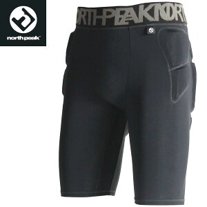 ◆◆ <ノースピーク> 【north peak】 ユニセックス ショートヒッププロテクター 3レイヤー スノーボード NP-1191