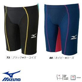 即納可☆【MIZUNO】ミズノ 超特価 マイティソニック R FINA承認済 ジュニア 競泳水着