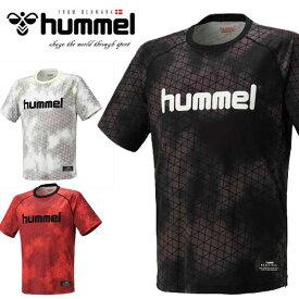 送料無料 メール便発送 即納可★【hummel】ヒュンメル 特価 19SS バスケットボール 昇華 半袖Tシャツ ユニセックス HAPB4016