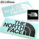 送料無料 メール便発送 即納可☆ 【THE NORTH FACE】ノースフェイス TNF CUTTING STICKER ロゴステッカー アウトドア…