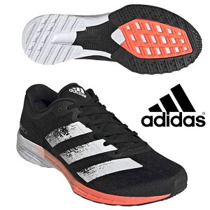 即納可☆ 【adidas】アディダス ランニングシューズ アディゼロ RC 2 メンズ adizero RC 2 M マラソンシューズ 部活動 ユニセックス EG4337