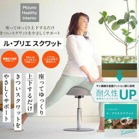 即納可☆【MIZUNO】ミズノ 座ってゆっくり上下するだけ。 ル・プリエスクワット フィットネス スクワット C3JHI905 05