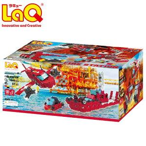 【すぐ使える割引クーポン配布中】 LaQ ラキュー ハマクロンコンストラクター ファイヤーステーション 知育玩具 ブロック 知育ブロック おもちゃ ギフト 子供 お誕生日 人気