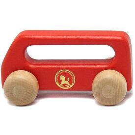 【割引フラッシュクーポン】 ミニバス 赤 ケラー社 車 知育玩具 木製玩具 ごっこ遊び 出産祝い 誕生日 プレゼント 男の子 女の子 0歳 1歳 2歳