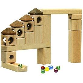 【割引クーポン】 スカリーノ 鈴の塔セット 【名入れ】 遊び方説明書付き 木のおもちゃ 積み木 ピタゴラスイッチ 玉の道 知育玩具 つみき 積木