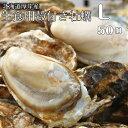 【マルえもん Lサイズ50個】北海道厚岸産本養殖牡蠣生食用