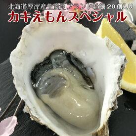 北海道厚岸産ブランド牡蠣 カキえもんスペシャル ナイフ1本付き