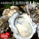 水産物応援企画!【マルえもん LLサイズ20個】北海道厚岸産本養殖牡蠣生食用