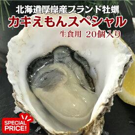 水産物応援企画!北海道厚岸産ブランド牡蠣 カキえもんスペシャル ナイフ1本付き
