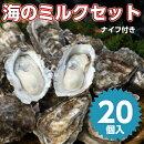 北海道厚岸産牡蠣海のミルクセット30