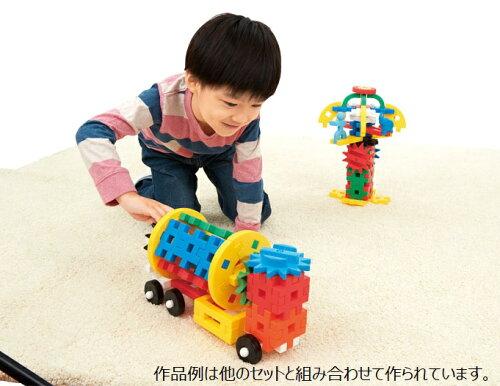 学研ブロック玩具ニューブロックつなげてまわる!ギアパック83118学研ステイフル