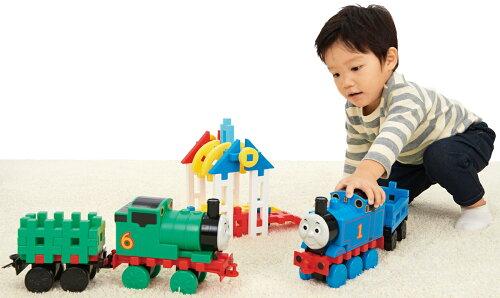 トーマス学研ブロック玩具ニューブロックトーマスとパーシー201983267学研ステイフル